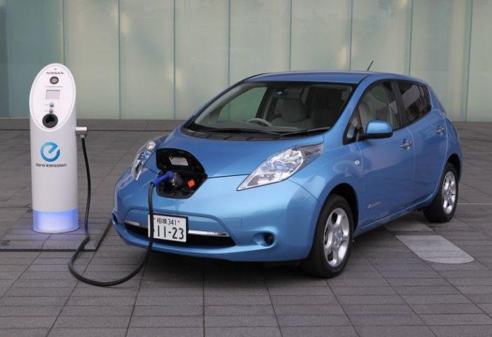 nissan leaf electric