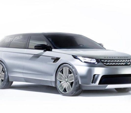 Electric Range Rover Concept